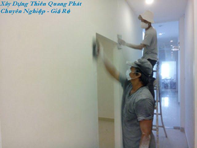 DV sơn lại nhà-Thợ sơn nhà tại tphcm