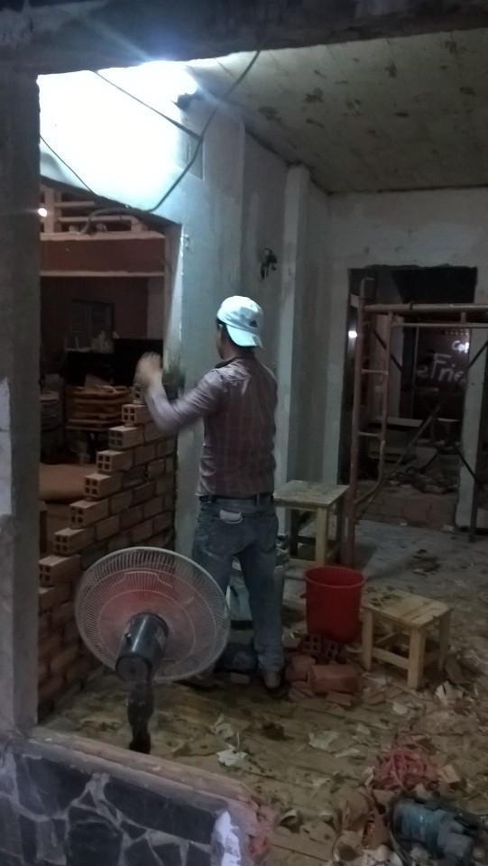 Thợ sửa lại nhà tại quận 1